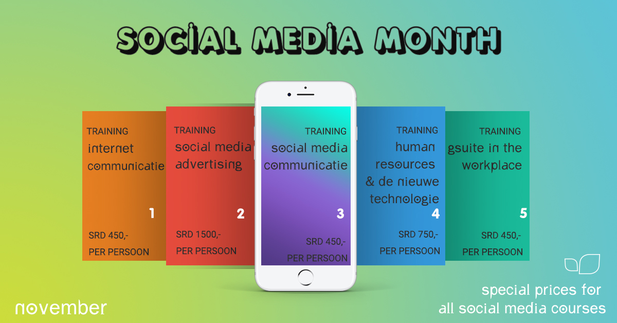 Social Media Month Suriname